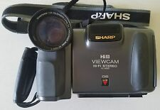 SHARP Hi8 Viewcam CAMCORDER Hi-Fi Stereo VL-H520 30x Zoom - Camera NOTHING ELSE