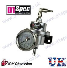 D1 SPEC FUEL PRESSURE REGULATOR 450BHP+ SUPRA IMPREZA STI SKYLINE EVO COSWORTH