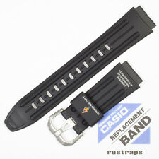 CASIO black rubber watch band for PRG-80, PAG-80, PAW-1100, 10186221