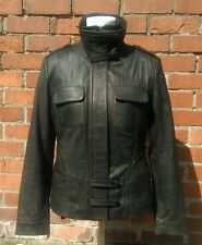 "Gorgeous soft leather military/pilot style jacket UK 12 ""Tailored by NEXT"" VGC!"