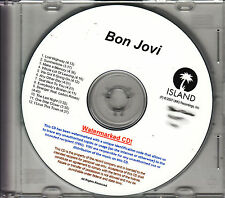 BON JOVI Lost Highway UK 12-tk watermarked promo test CD