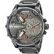 Diesel Men's DZ7315 'Mr. Daddy 2.0' Chronograph 4 Time Zones Black steel Watch