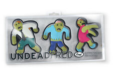 NEW - NOVELTY ZOMBIE SHAPED COOKIE BISCUIT CUTTERS  UNDEAD FRED  HALLOWEEN PARTY