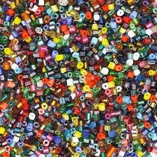 Czech Glass Seed Bead Color Mix One Ounce (1oz) pack Bead Size: 11/0 2 cut