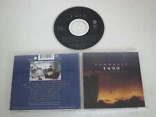 1492 CONQUEST OF PARADISE/SOUNDTRACK/VANGELIS(EAST WEST 4509-91014-2) CD ALBUM