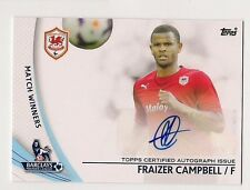 Fraizer Campbell 2013 Topps English Premier League Soccer Gold AUTO Card #SP-FC