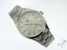 Men's Tag Heuer Carrera 5 WV211A-0 Automatic Stainless Steel 39mm Case Watch EUC