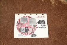 ~ Vintage Standard Motor Products Ignition & Carb Tune Up Specifications 1979 ~