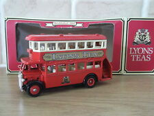 Lledo LP15192, AEC Regent Double Deck Bus, Lyons Tea