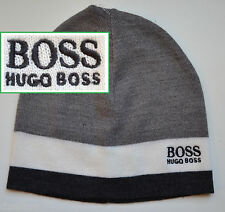 NWT Hugo Boss Green Label By Hugo Boss Knit Beanie LOGO Hat