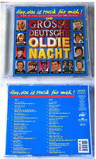 Die grosse Deutsche Oldie Nacht - Udo Jürgens, Adamo, Peggy March, Lords.. DO-CD