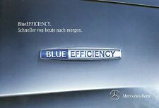 Prospekt Mercedes BlueEfficiency 8 11 2011 E Cabriolet CGI B 180 S400 Hybrid SLK