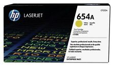 HP 654A (Yield 15000 Pages) Yellow Original LaserJet Toner Cartridge for