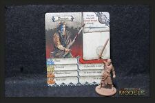 Zombicide Black Plague Kickstarter Exclusive Danton With Card