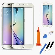 White Replacement Screen Glass Repair Tools For Samsung Galaxy S6 Edge+ Plus