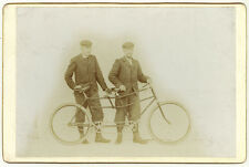 Photo Vélocipède Tandem Vélo Bike Vers 1880/90