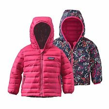 Patagonia Baby Reversible Down Sweater Hoody NWT Magic Pink 4T