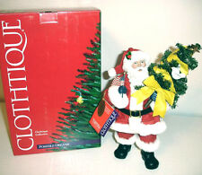 Clothtique Possible Dreams Homecoming Santa Figurine Hand Painted NEW