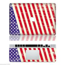"US Cool Vinyl Apple Macbook Pro 13"" Inch Sticker Decal Skin Cover For Laptop Mac"