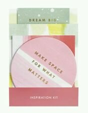 Kikki.K Vision Board Kit Quotes and Inspiration Cards, Planner Accessory -THRIVE