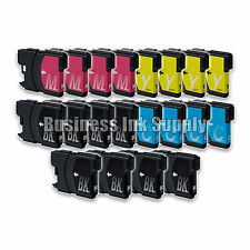 20 PACK LC61 Ink Cartridges for Brother MFC-490CW MFC-495CW MFC-J615W MFC-J630W
