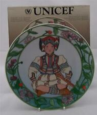 Villeroy & and Boch CHILDREN OF THE WORLD UNICEF No10 Yugoslavia plate NEW BOXED