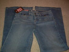 JUICY COUTURE Low Rise Stretch SUPER FLARE Blue Jeans  28 NWT NEW FREE SHIP