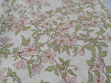 Vintage SANDERSON Curtain/Upholstery FABRIC 5 Yards + c1980's 100% COTTON Floral
