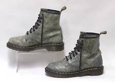 Genuine Dr Martens Airwair Pelle 8 Occhielli Lacci MARMO brevetto UK 5