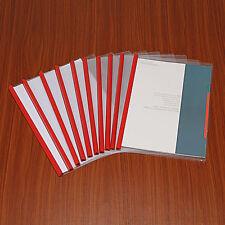 Pro 10PCS Koffer Clip Papier Akte Ordner-speicher Dokument A4 Büro Zubehör Set