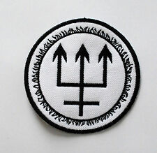 WATAIN EMBROIDERED PATCH BLACK METAL