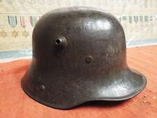 NICE ORIGINAL WW1 GERMAN M16 HELMET - RARE MAKER - BELL