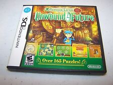 Professor Layton and the Unwound Future Nintendo DS Lite DSi XL w/Case & Manual