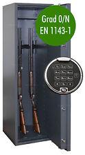 Waffenschrank Grad 0 EN 1143-1 Waffentresor Gun Safe 0-5 mit Zahlenschloss