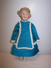 Antique Reproduction Gebruder Heubach Coquette Doll HTF Character Girl  14""