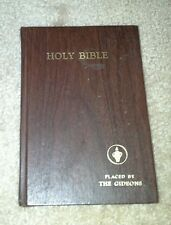 1973  Holy Bible Placed by Gideons King James Version