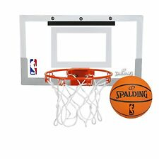 Spalding NBA Slam Jam Over-The-Door Mini Basketball Hoop by Spalding (56099)