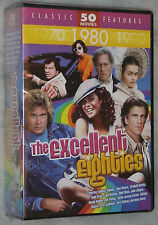 The Excellent Eighties 50 Classic 1980's Movies 12 DVD Box Set  NEW & SEALED