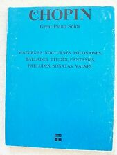 Chopin 28 Great Piano Solos Mazurkas Nocturnes Valses Sonatas Others Unmarked