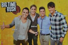 BIG TIME RUSH - A3 Poster (ca. 42 x 28 cm) - James Clippings Fan Sammlung NEU