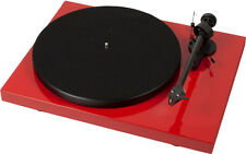 Pro-Ject (Project) Debut Carbon DC Turntable - Gloss Red *New Model*