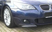 BMW E60 E61 M-Sport Front Bumper spoiler flaps elerons M Power tuning M-Tech