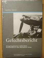 Gefechtsbericht Kriegstagebücher 1939-1945 Starfighter F-104 Bundeswehr Buch NEU