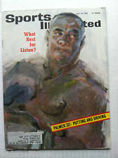 1963 SONNY LISTON BOXING (7-29-63) WHAT'S NEXT CASSIUS CLAY Sports Illustrated