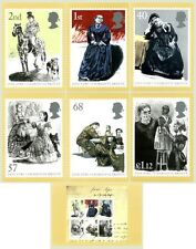 GB POSTCARDS PHQ CARDS MINT FULL SET 2005 JANE EYRE CHARLOTTE BRONTE PACK 273
