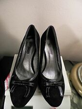 RASOLLI WOMEN'S WEDGE SHOES SIZE-6,5 MED BLACK  NWT MSRP$59.99 COMFY!