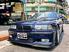 BMW E36 M3 M TECH M-TECH M SPORT BUMPER ONLY CARBON FRONT LIP SPOILER R STYLE