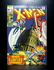 COMICS: Marvel: X-men #64 (1970, Vol 1), 1st Sunfire app - RARE (avengers/thor)