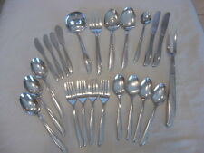 Oneida Twin Star Knives Spoons Ladle Servers, Forks Butters, Carve Fork 23P