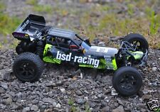 1-BS709R BSD Racing Flux Baja V2 RC Really Fast Brushless Buggy 1:10th 2.4GHz UK